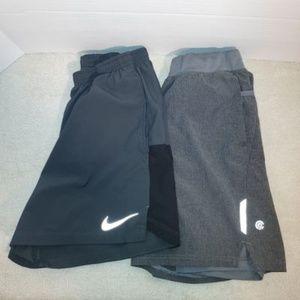 Set of 2 Women's Nike/Champion shorts size M